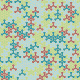 Dirigez le modèle sans couture moderne de tessellation de la géométrie, abstrait Photos stock