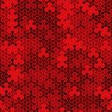 Dirigez le modèle sans couture moderne de tessellation de la géométrie, abstrait Photo libre de droits