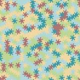 Dirigez le modèle sans couture moderne de tessellation de la géométrie, g abstrait Photos libres de droits