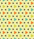 Dirigez le polygone coloré sans couture moderne de triangle de modèle de la géométrie, abrégé sur vert orange bleu couleur Photo stock