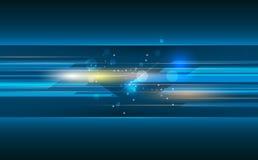 Dirigez le résumé, la science, futuriste, concept de technologie énergétique illustration stock