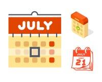 Dirigez le rendez-vous de plan de papier de graphique de gestion d'organisateur de bureau d'icônes de Web de calendrier et l'élém Photo stock