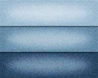 Dirigez les divers milieux bleus de jeans de couleur, l'illustration réaliste de tissu de denim, ensemble de bannières horizontal Images libres de droits