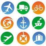 Dirigez les graphismes de transport illustration de vecteur