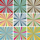 Dirigez les milieux colorés   illustration stock