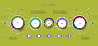 Dirigez les télécom de pointe numériques d'illustration et d'ingénierie techniques illustration de vecteur