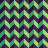 Dirigez les triangles sans couture modernes de modèle de la géométrie, résumé noir et blanc photographie stock libre de droits