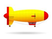 dirigibile Trasporto di persone dell'aria Illustrazione di vettore royalty illustrazione gratis