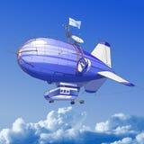 Dirigible balloon stock illustration