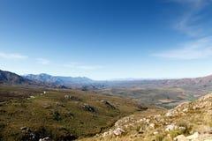 Dirigindo acima - a reserva natural de Swartberg fotos de stock royalty free