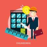 Dirigir diseño conceptual libre illustration