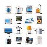 Dirija ícones do equipamento Imagem de Stock Royalty Free