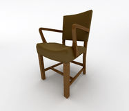 Dirija a cadeira ilustração royalty free