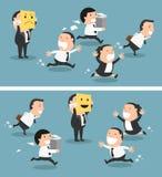 Dirija el cambio de su humor de malo a bueno, vector libre illustration