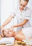 Dirija a massagem Imagem de Stock