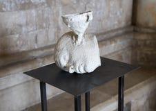 Dirija por Nino Longobardi em uma sala de Castel Del Monte imagens de stock