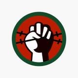 Diritti umani giorno, manifesto, citazioni, modello Fotografie Stock