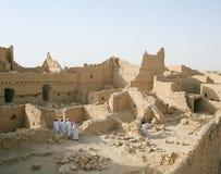 Diriyah - ciudad vieja cerca de Riyadh Fotos de archivo