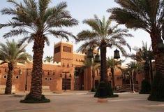 Diriyah - oude stad dichtbij Riyadh royalty-vrije stock afbeelding
