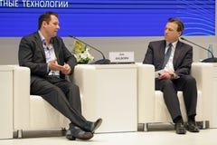 Dirk Ahlborn und Geoff Cutmore Lizenzfreies Stockfoto