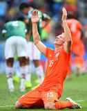 Dirk Kuyt Coupe du monde 2014 Royalty Free Stock Photography