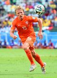 Dirk Kuyt Coupe du monde 2014 Royalty Free Stock Photos