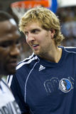 Dirk Nowitzki de Dallas Photographie stock