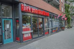 Dirk Supermarket At Amsterdam The Paesi Bassi fotografia stock