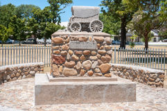 Dirkie Uys monument in Somerset West. CAPE TOWN, SOUTH AFRICA - DECEMBER 22, 2014: Dirkie Uys monument in Somerset West. Dirkie Uys was a child hero who died Royalty Free Stock Photo