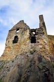 dirleton замока стоковая фотография rf