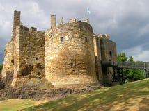 Dirleton. A view of Dirleton castle, near Edinburgh (Scotland Stock Photos