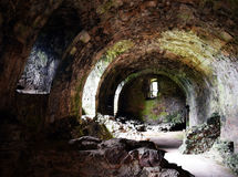 Dirleton Castle - Cellar Stock Photography