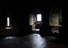 Dirleton Castle Hall Royalty Free Stock Images