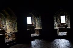 Dirleton slott Hall Royaltyfri Foto