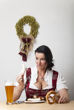 Dirndl royalty free stock image