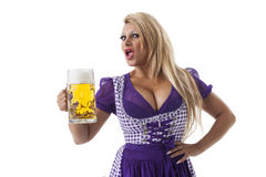 Dirndl Royalty Free Stock Images