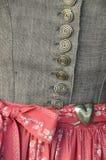 Dirndl dress detail Royalty Free Stock Photography
