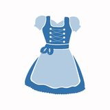 Dirndl Dress Royalty Free Stock Image