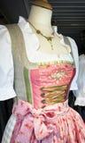 Dirndl. Part of a typical bavarian dirndl royalty free stock image