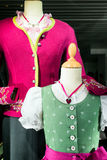 Dirndl. Part of a typical bavarian dirndl royalty free stock photo