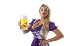 Dirndl Royalty Free Stock Photos