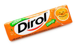 Dirol chewing gum Stock Image