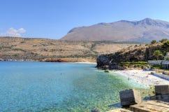 Diros海滩,希腊 免版税库存图片