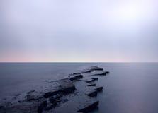 Dirset de la bahía de Kimmeridge Imagenes de archivo