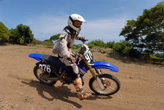Dirt Bike Stock Photo