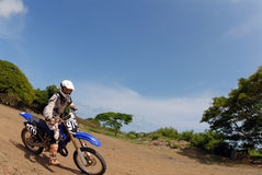 Dirt Bike Royalty Free Stock Photos
