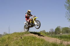 Dirt Bike 3 Stock Photos