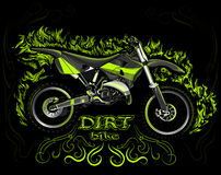 Dirt bike Royalty Free Stock Photo