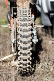 Dirt Bike close-up view. Stock Photography