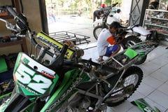 Dirt bike Royalty Free Stock Photo